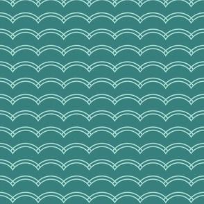 Scallop Stripe Lake