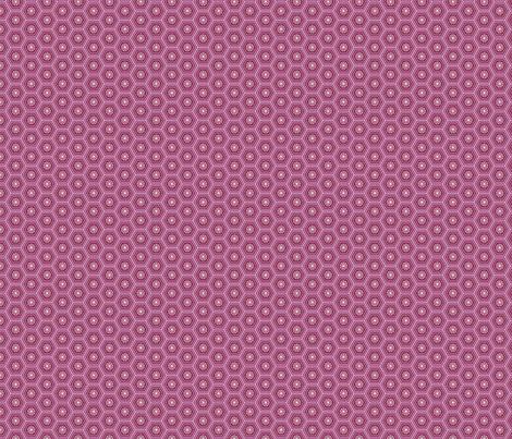 Hexies Purple fabric by freshlypieced on Spoonflower - custom fabric