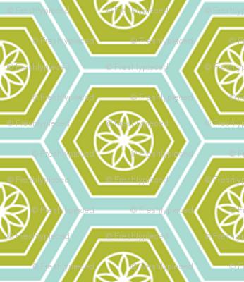 Hexies Lime