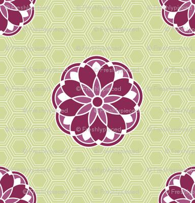 Antique Tile Lime