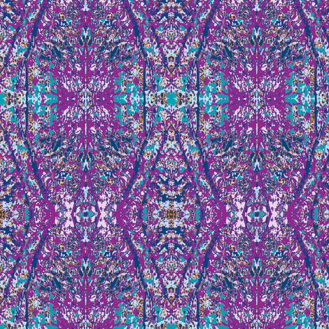 Purples fabric by karendel on Spoonflower - custom fabric