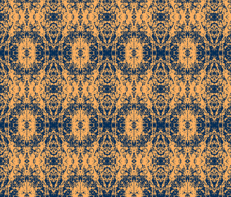 Melon fabric by karendel on Spoonflower - custom fabric
