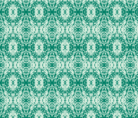 Shades of Green fabric by karendel on Spoonflower - custom fabric