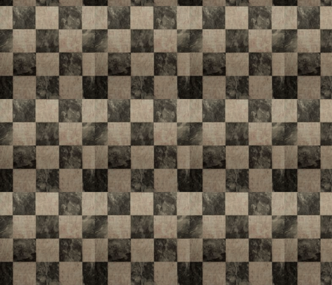 Textured Checkerboard fabric by platosquirrel on Spoonflower - custom fabric