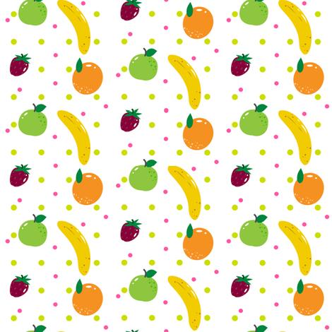 Fruity Fun! - © PinkSodaPop 4ComputerHeaven.com fabric by pinksodapop on Spoonflower - custom fabric