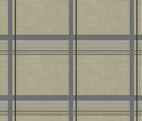 Relaxed plaid fabric by platosquirrel on Spoonflower - custom fabric