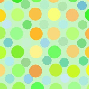 Yellowdots-Colorful Circles