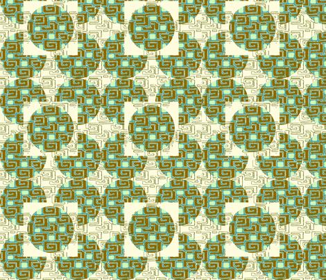 Modern Geometrics fabric by cksstudio80 on Spoonflower - custom fabric