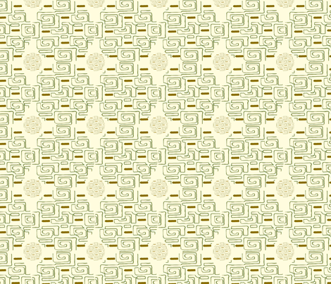 Geometric Inversion fabric by cksstudio80 on Spoonflower - custom fabric