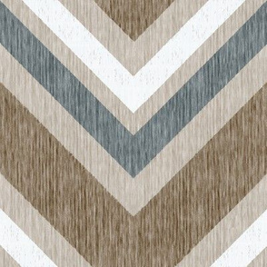 French Linen ZigZag Chevron