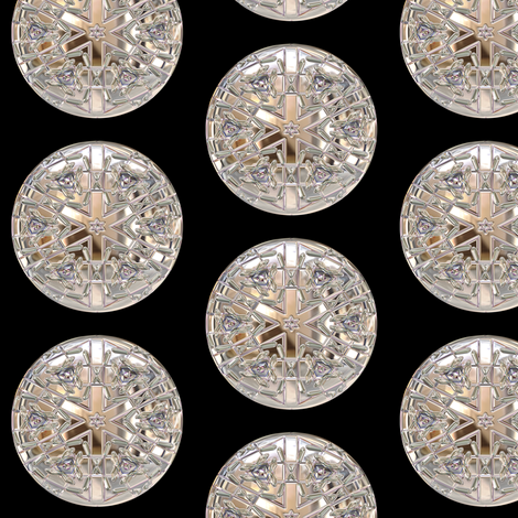 Glass Gems 1A, L fabric by animotaxis on Spoonflower - custom fabric