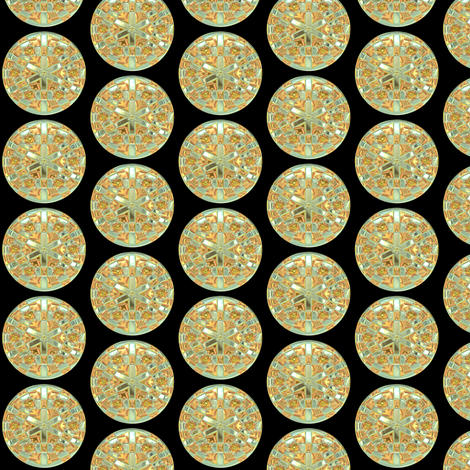 Glass Gems 1B, S fabric by animotaxis on Spoonflower - custom fabric