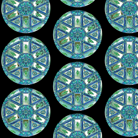 Glass Gems 2A, L fabric by animotaxis on Spoonflower - custom fabric