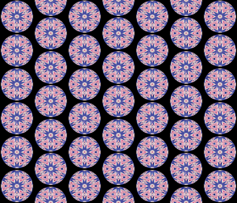 Glass Gems 4B, L fabric by animotaxis on Spoonflower - custom fabric