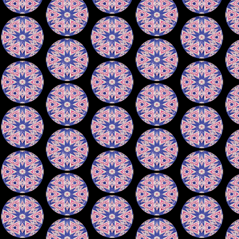 Glass Gems 4B, S fabric by animotaxis on Spoonflower - custom fabric
