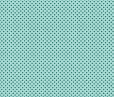 Dot Aqua fabric by freshlypieced on Spoonflower - custom fabric