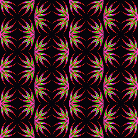 Bleeding Hearts Swirls 1 fabric by dovetail_designs on Spoonflower - custom fabric