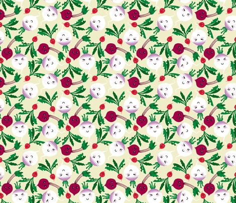 Cute Roots fabric by pi-ratical on Spoonflower - custom fabric