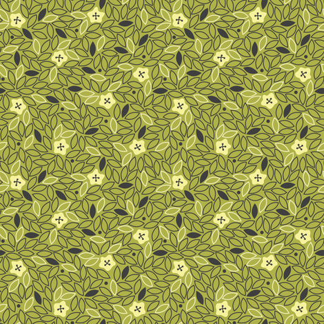 Buttons! In Avocado fabric by meduzy on Spoonflower - custom fabric