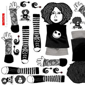 Clara cloth rag doll