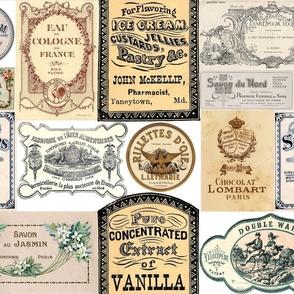 Vintage Labels 2