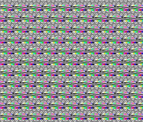 TV fabric by dailyalice on Spoonflower - custom fabric