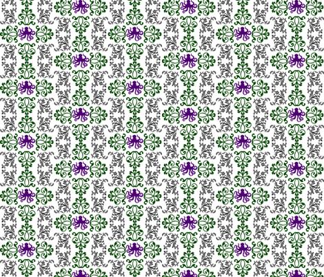 trishstuff's Victorian Octopus fabric by trishstuff on Spoonflower - custom fabric