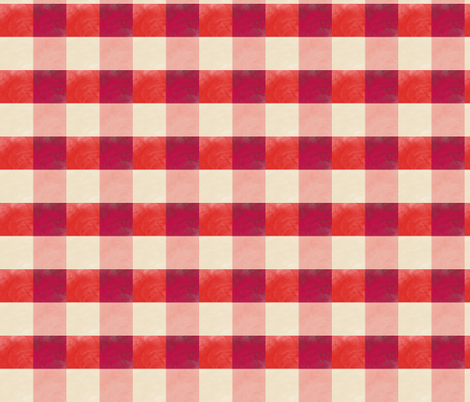 Old Gingham fabric by rupydetequila on Spoonflower - custom fabric