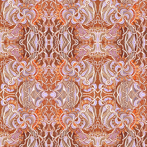 Gothique Autumn fabric by edsel2084 on Spoonflower - custom fabric