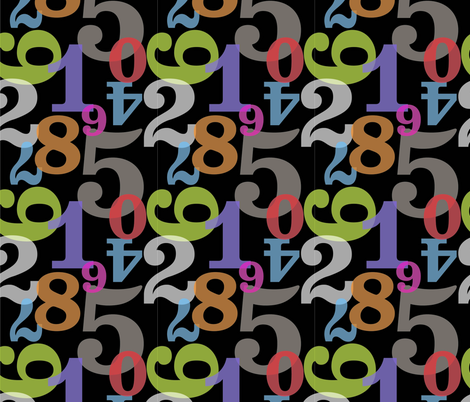 No. 5 fabric by slothdaddy on Spoonflower - custom fabric