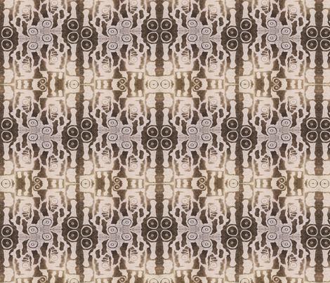 Glow Fir fabric by allida on Spoonflower - custom fabric