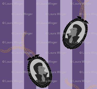 Vamp Cameo Purple Stripe