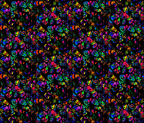 Gone but not forgotten fabric by whimzwhirled on Spoonflower - custom fabric