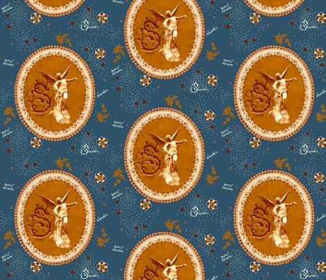 Sweet dreams ( zoom in please) fabric by paragonstudios on Spoonflower - custom fabric