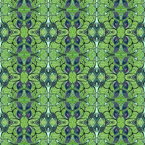 Going Green fabric by edsel2084 on Spoonflower - custom fabric