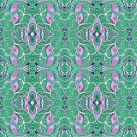 Victorian Calico on Hormones fabric by edsel2084 on Spoonflower - custom fabric
