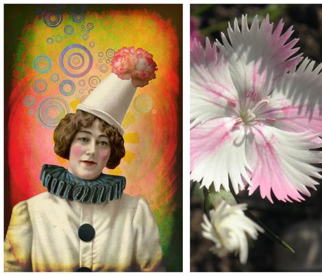 Art Amalgam 2 fabric by feebeedee on Spoonflower - custom fabric