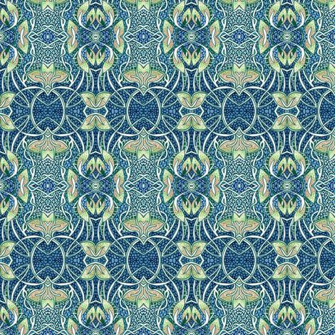 How Very Art Nouveau fabric by edsel2084 on Spoonflower - custom fabric