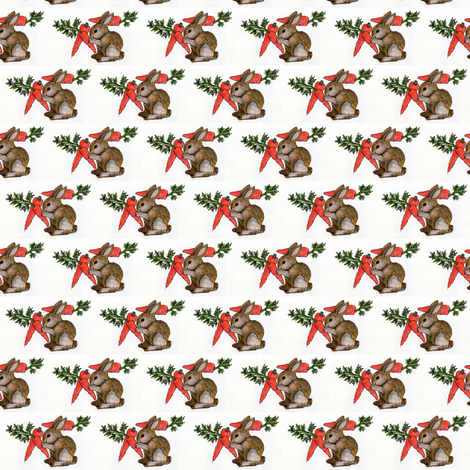 Baby bunny gets 3 wishes fabric by edsel2084 on Spoonflower - custom fabric