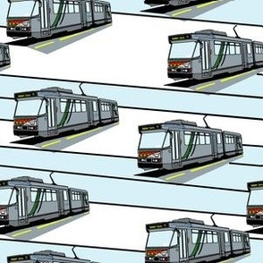 Modern Tram Route 75