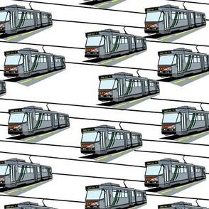 Modern Tram Route 75 -  Plain