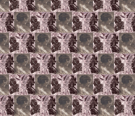 Gothic Silhouette fabric by raining54 on Spoonflower - custom fabric