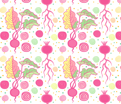 Beets fabric by nikishor on Spoonflower - custom fabric