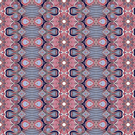 Hooray For the Pink and the Gray fabric by edsel2084 on Spoonflower - custom fabric