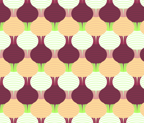 beetroot turnip swede fabric by sef on Spoonflower - custom fabric