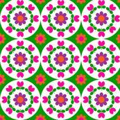 flower_plate green