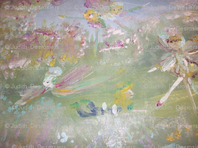 The Fairies on the hill