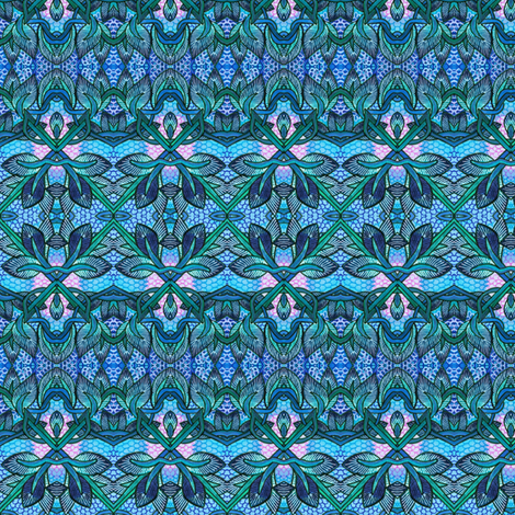 The 100,000th Abstract fabric by edsel2084 on Spoonflower - custom fabric