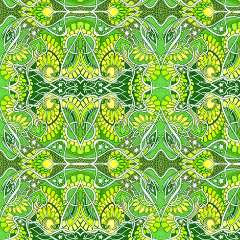Romance in the Spring Air fabric by edsel2084 on Spoonflower - custom fabric