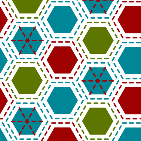 Tilkkutakki (Harlequin) A fabric by nekineko on Spoonflower - custom fabric
